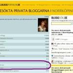 Tjoho, topp 12 på Bloggportalen!