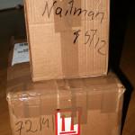 Packning av Nailmail!