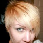 En blekt blondin