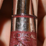 Läppgunksresan: #5 L'oreal Glam Shine Mercury Crystal
