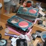 Bilder på mina H&M-paletter