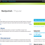 Nailpolish channel på Twingly