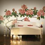Bättre bild Magnoliatapeten