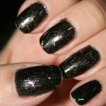 Essie – Licorice + Nabi – 146 New Black Glitter