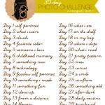 Ny utmaning – 30 dagars foto!
