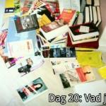 30 Dagars fotoutmaning – Dag 20: Vad jag läser
