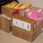 En massa paket!