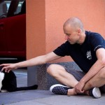 En katt på stan