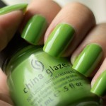 Grön onsdag: China Glaze – Gaga for Green