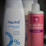 Nyinköp av balsam – Neutral och Urtekram