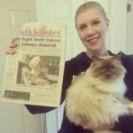 Artikeln i Folkbladet