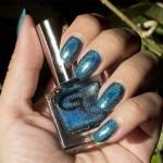 Holofredag: Glitter Gal – Teal Blue