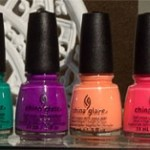 China Glaze Sunsational Neons On The Shore Collection – haul