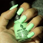 Grön Onsdag: China Glaze – Highlight Of My Summer