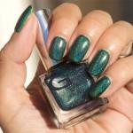 Holofredag: Glitter Gal – Teal Green