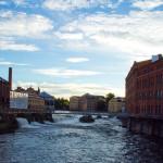 Norrköping i Skymning