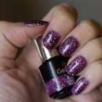Depend – GelLack – Purple Passion Glitter