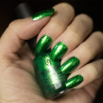 Grön Onsdag: China Glaze – Running in Circles