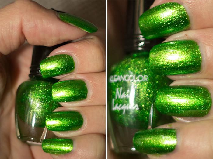 kleancolor-metallicgreen-3