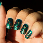 United in Green/Nailart Sunday: Kärlek