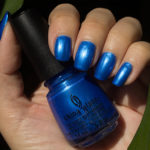 Blå Måndag: China Glaze – Crushin' On Blue