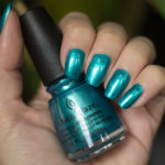 Grön Onsdag: China Glaze – Don't Teal My Vibe