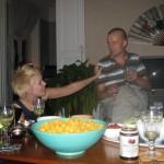 Bilder från festen