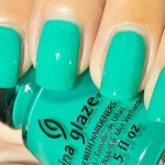 Grön Onsdag: China Glaze – Keepin' It Teal
