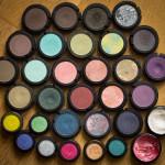Min samling skuggor från Make Up Store
