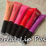 Nyhet: L´Oréal Lip Paint
